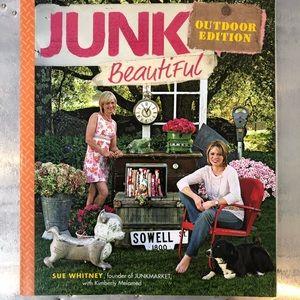 Junk Beautiful set of 2 books.  NEW!  Autographed.